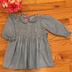 Vintage ESprit Denim/Chambray Dress 2T